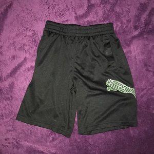 Boys Puma Basketball Shorts Black